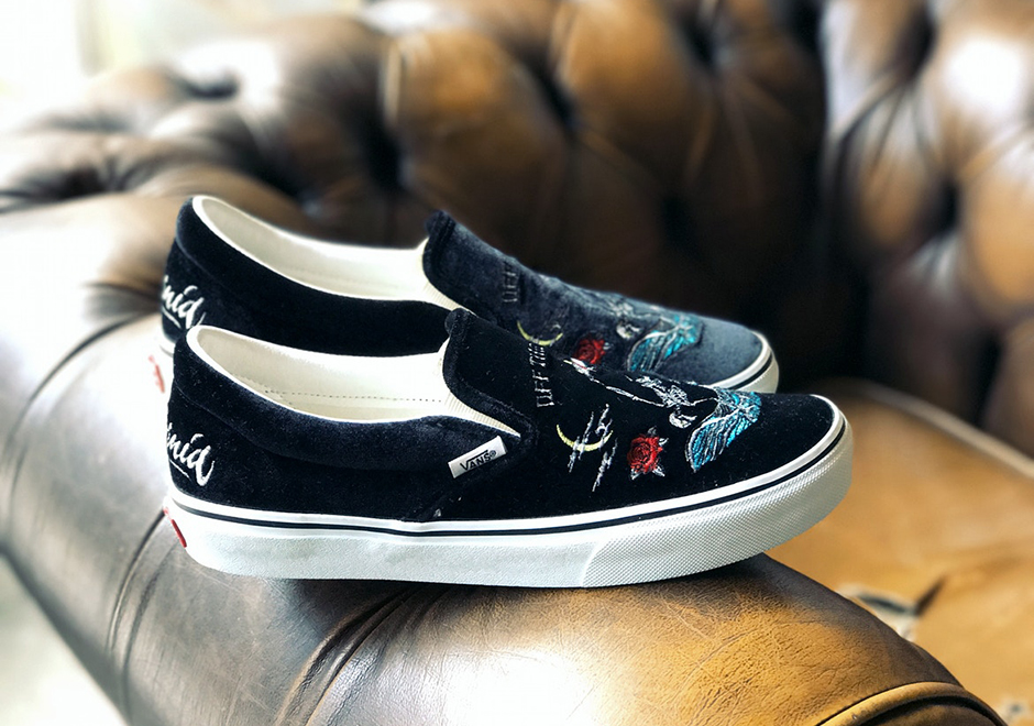 4b563d3045 The ROLLICKING x Vans Slip-On releases September 23rd in limited supplies  at select overseas retailers.