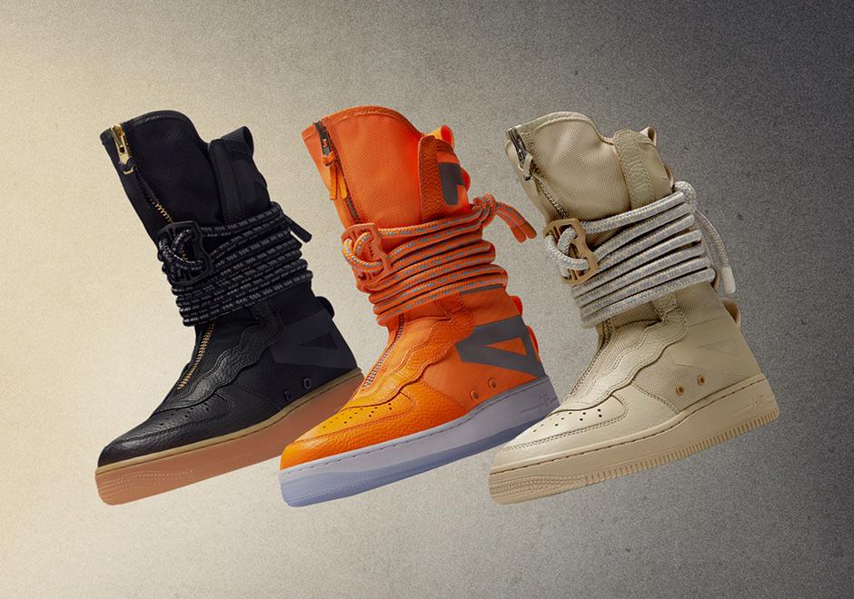 Nike SF-AF1 High Release info