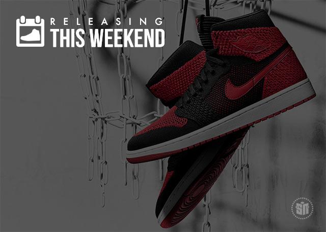 Flyknit Air Jordan 1s, Karl Lagerfeld Vans, New Foamposites & More of the Best Weekend Sneaker Releases