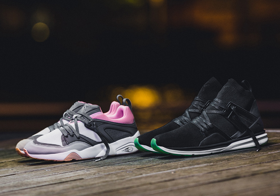 2a731d95b733 Solebox is teaming up with PUMA for a brand new collaboration inspired by  the celebratory popping champagne bottles with a brand new iteration of the  retro ...