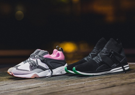 Solebox Teams Up With PUMA For A Champagne Inspired Blaze of Glory