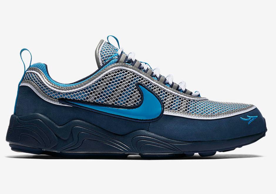 newest b75ed 21999 ... 2017 Stash x Nike Zoom Spiridon Release Date November 29thth, 2017.  Color Harbour BlueHeritage CyanMidnight STASH x Nike Air ...