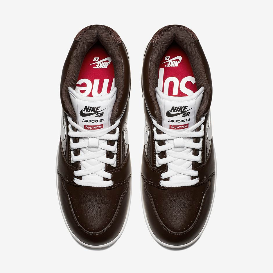 Supreme Nike Air Force 2 Releasing on