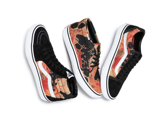 Supreme's Next Vans Collaboration Features Andres Serrano's Piss Christ And Blood And Semen Photographs