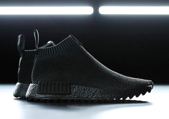 TGWO And adidas Consortium Create Ninja-Inspired Triple Black NMD City Socks
