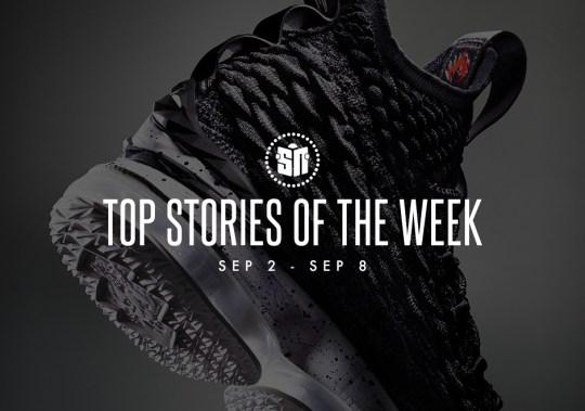 Top Stories Of The Week: September 2-8