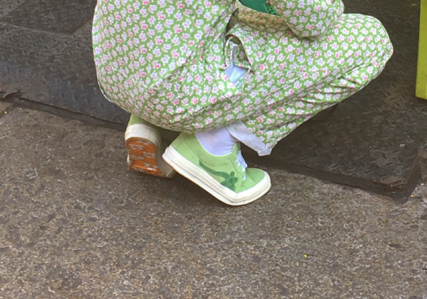 Tyler the Creator Converse One Star Flower Preview  752fa0e34