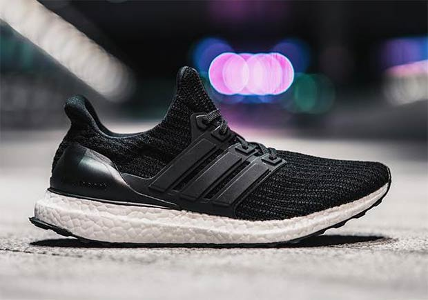 "official photos 54d91 e6e15 adidas Ultra Boost 4.0 Releasing In The Flagship ""Core Black"" Colorway"