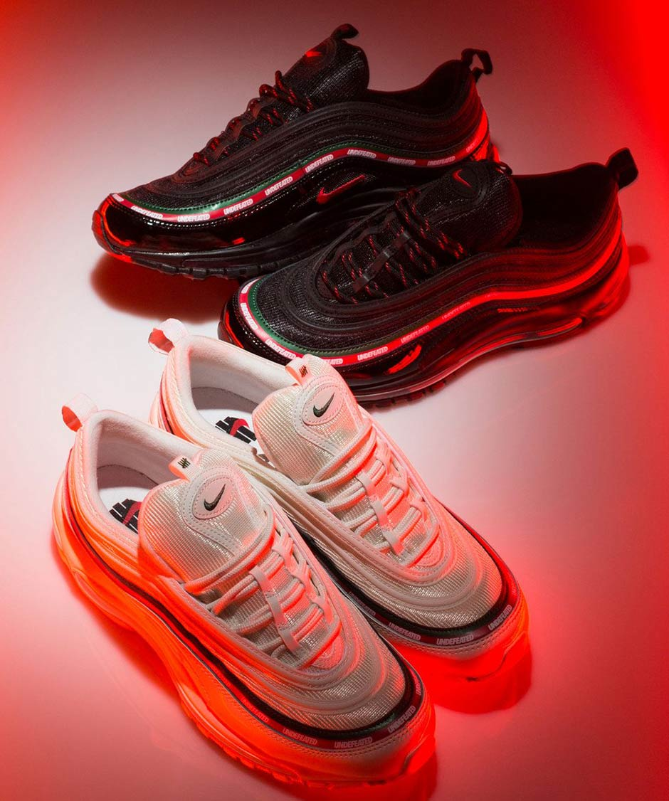 undefeated x nike air max 97 restock