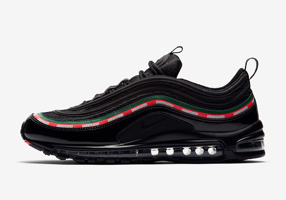"Undefeated x Nike Air Max 97 ""Black"" Release Date: September 16th, 2017  (UNDFTD Exclusive) Release Date: September 21st, 2017 (Nike)"