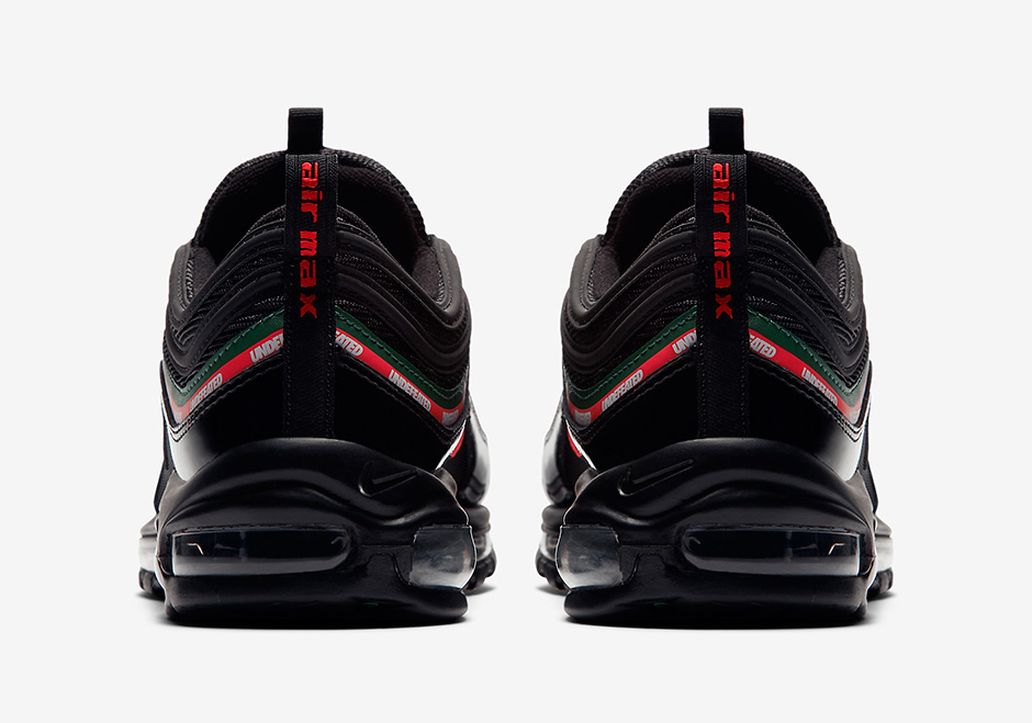 52150da7e171 Undefeated Nike Air Max 97 Black Official Images AJ1986-001 ...