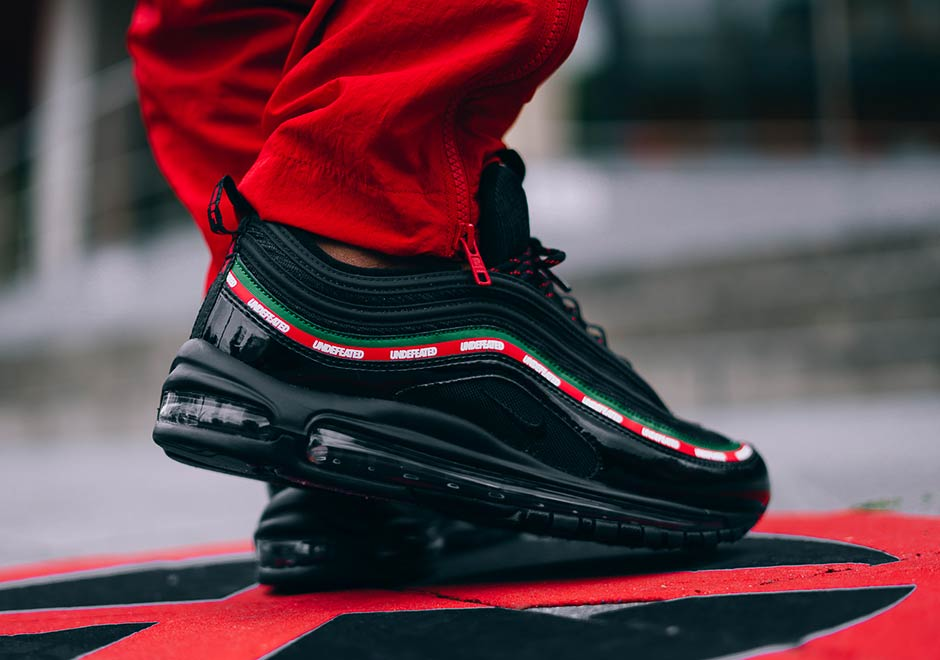 nike undefeated x air max 97