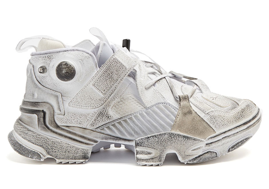 Vetements x Reebok Genetically Modified Pump AVAILABLE ON MatchesFashion.com 887deede1