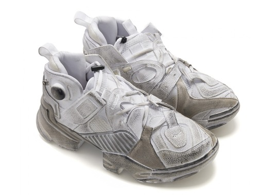 Vetements And Reebok Release The Genetically Modified Pump