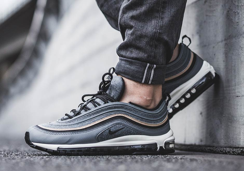 brand new 8ba71 e136f Nike Air Max 95 Premium  160. Color  Cool Grey Mushroom-Deep Pewter-Wolf  Grey