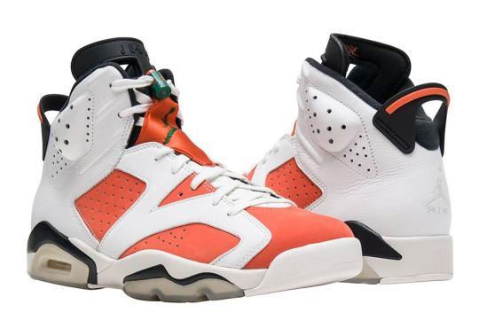 """Air Jordan 6 """"Gatorade"""" Arriving At Retailers"""