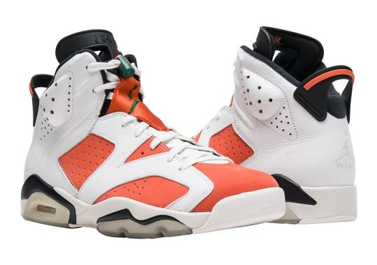 "Air Jordan 6 ""Gatorade"" Arriving At Retailers"