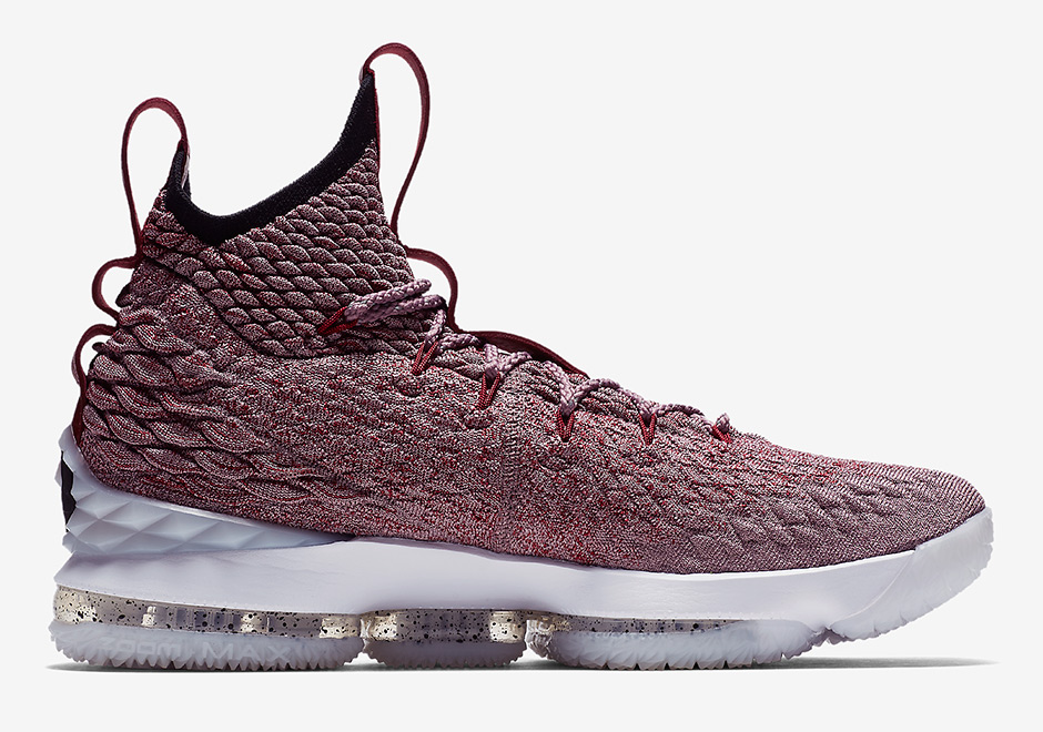 best website a6790 9ff88 Nike LeBron 15 Red White 897649-201 | SneakerNews.com