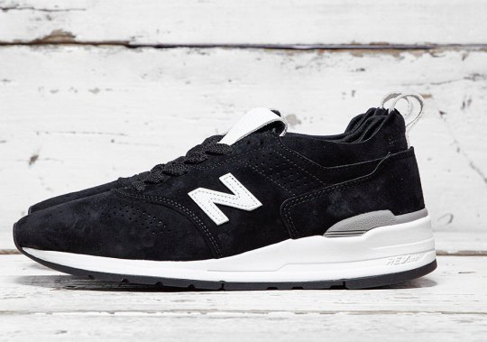 New Balance's Deconstructed 997 Drops In Black Suede