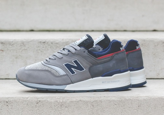 Woolrich And New Balance Deliver A Distinct 997 Collaboration