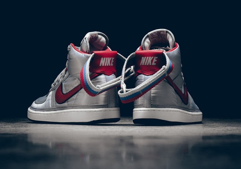 Nike Vandal High Supreme Silver Release