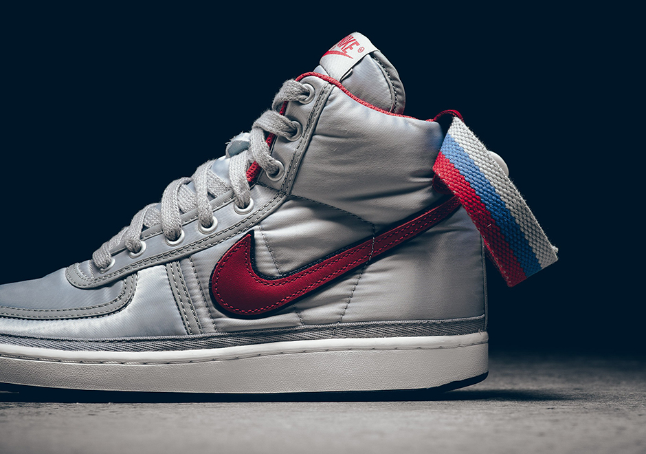 huge discount 06be6 a41b0 Nike Vandal High Supreme Silver Release Info  SneakerNews.co