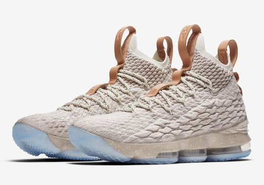 """Official Images Of The Nike LeBron 15 """"Ghost"""""""