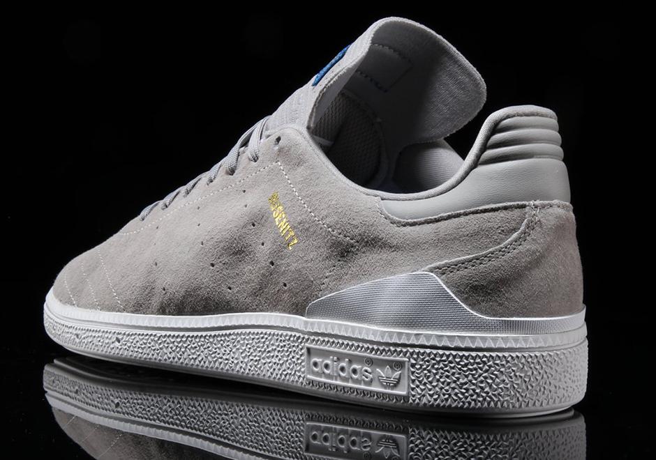 97adbd33f632 adidas Busenitz RX Grey Suede BY4100