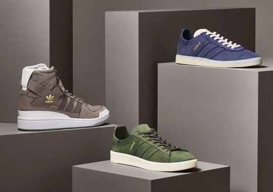 """adidas Originals Reinterprets Icons With The """"Crafted Energy"""" Pack"""