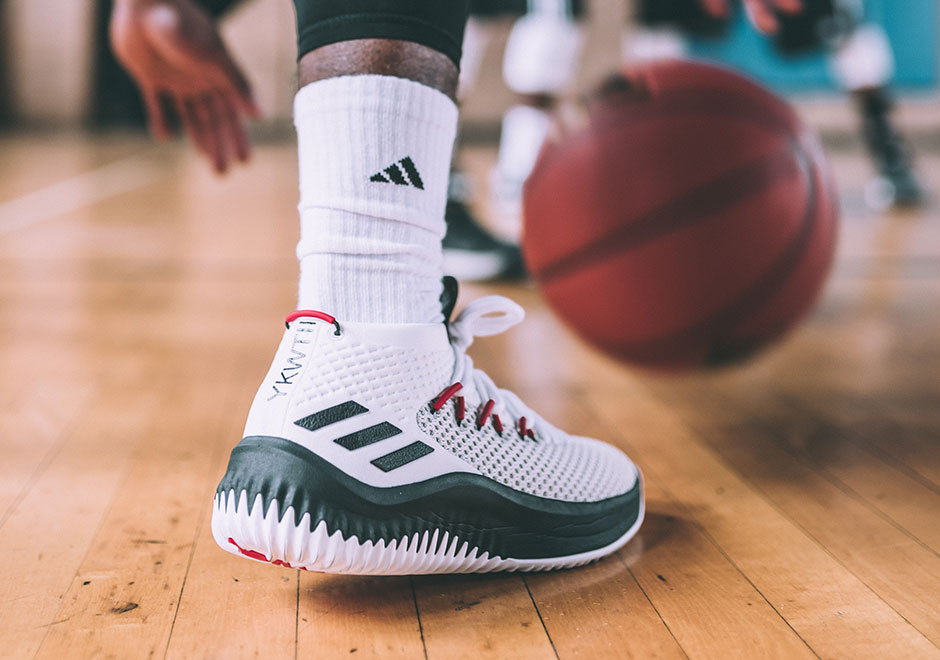 adidas dame 4 ankle support