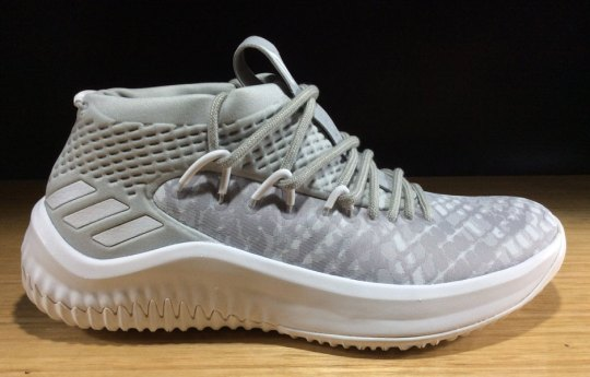 "Adidas Releases New Dame 4 ""Grey Camo"" in Kids Sizes"
