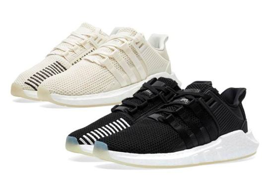 The adidas EQT Boost 93/17 Arrives In Two Contrasting Options
