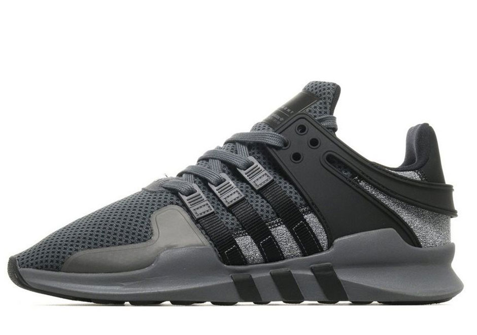 timeless design 839f1 51a90 adidas EQT Support ADV Black Grey Static | SneakerNews.com