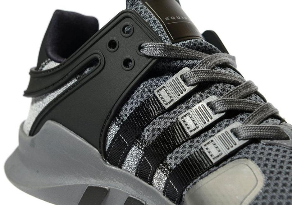 romano monitor teléfono  adidas EQT Support ADV Black Grey Static | SneakerNews.com