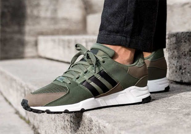 pretty nice 8b4f8 6b771 The adidas EQT Support 93 is ready to enlist into your fall sneaker  rotation with this army-themed colorway coming soon. Army-issued fatigues  appear to be ...