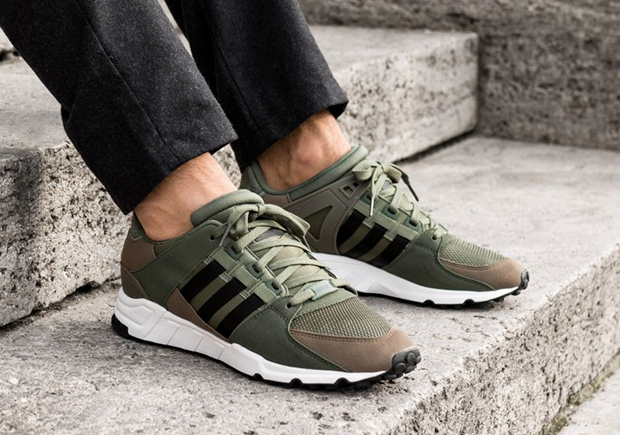 adidas EQT Support 93 Olive Green BY9628   SneakerNews.com