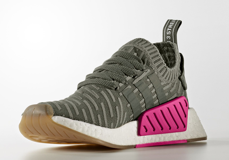 b8d2dc2cfd120b adidas NMD R2 Primeknit W Release Date  October 2017  170. Color  Running  White Shocking Pink