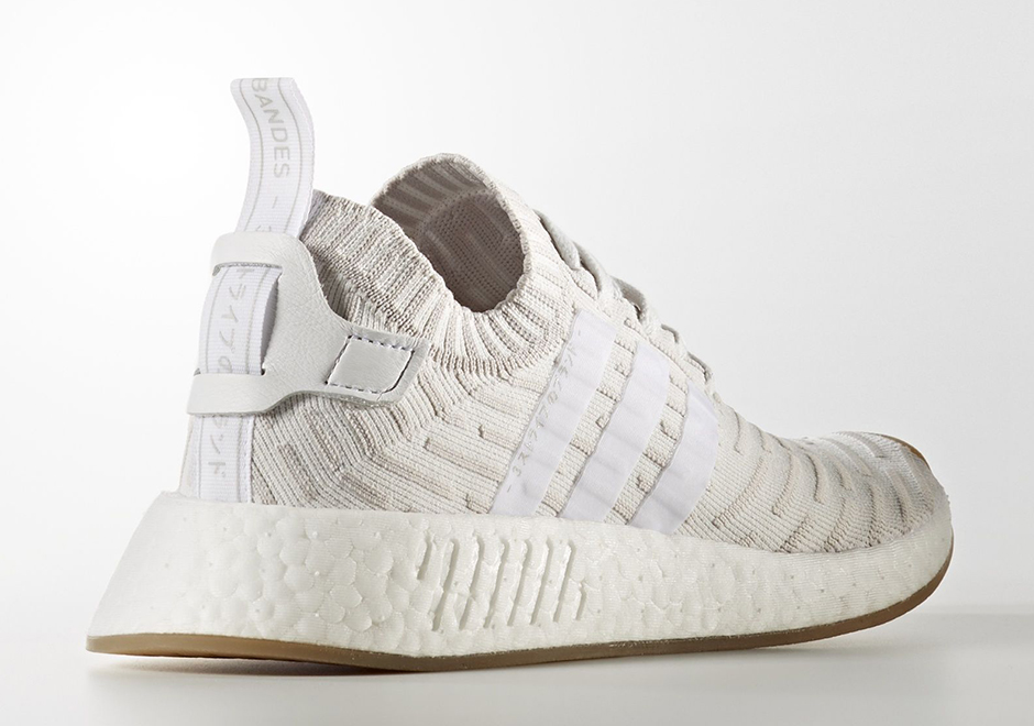 24ee7e2aa adidas NMD R2 Primeknit W Release Date  October 2017  170. Color  Running  White Shocking Pink