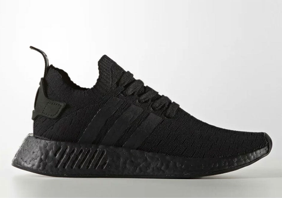 "c01dd6c2cd25b adidas Originals is ready to add the famed ""Triple Black"" color scheme to  its slew of impressive colorways of the adidas NMD R2."