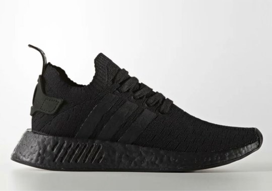 """Triple Black"" Is Coming To The adidas NMD R2"