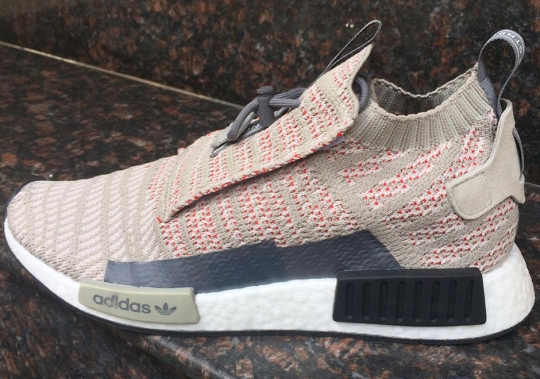 Sample Of New adidas NMD Model Surfaces