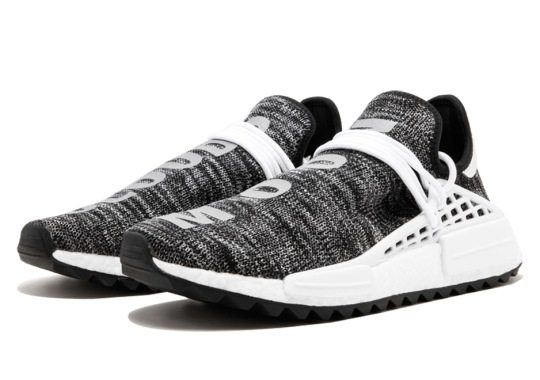 "Pharrell's adidas NMD Human Race TR ""Core Black"" Available Early"