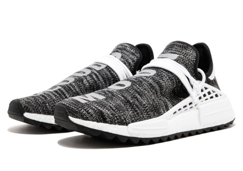 "4a76ebffe6868 Pharrell s adidas NMD Human Race TR ""Core Black"" Available Early"