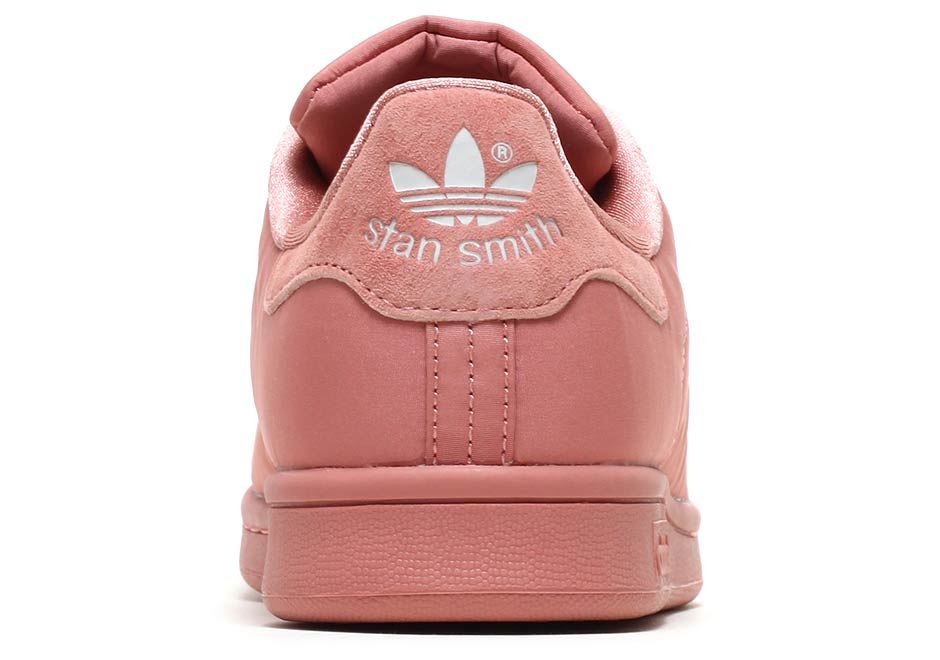 The adidas Stan Smith Releases In Satin Uppers