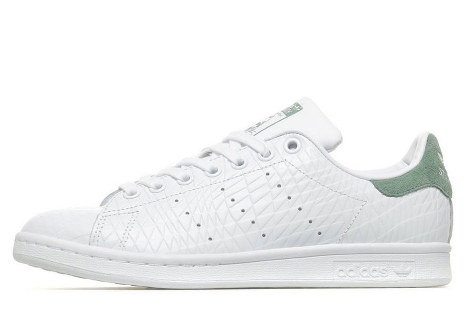 online store 0f779 7697f ... Originals retailers such as JD Sports now. adidas Stan Smith Available  Now  Pink   Green. Advertisement