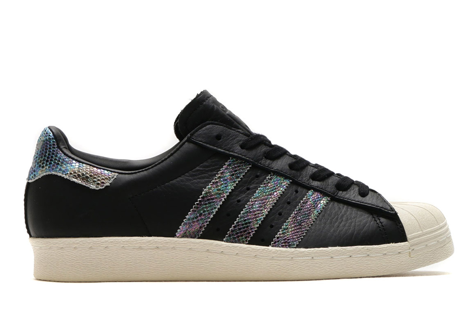 timeless design ce14e 5b2e8 adidas Superstar Iridescent Snakeskin BZ0147 | SneakerNews.com