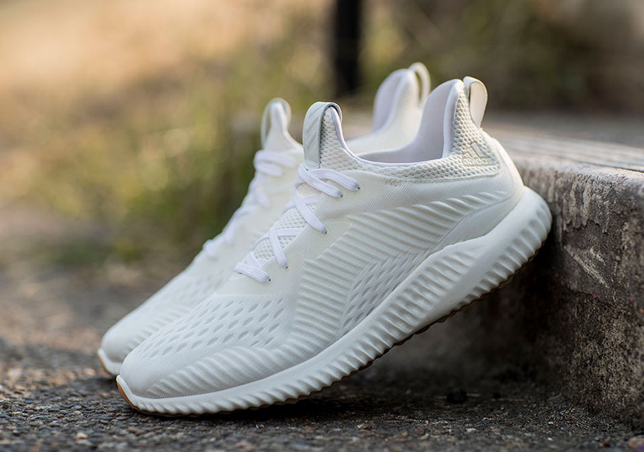 brand new 101fb 5bc54 adidas Unveils Alphabounce Undyed Gum Bottoms BW1225  Sneake