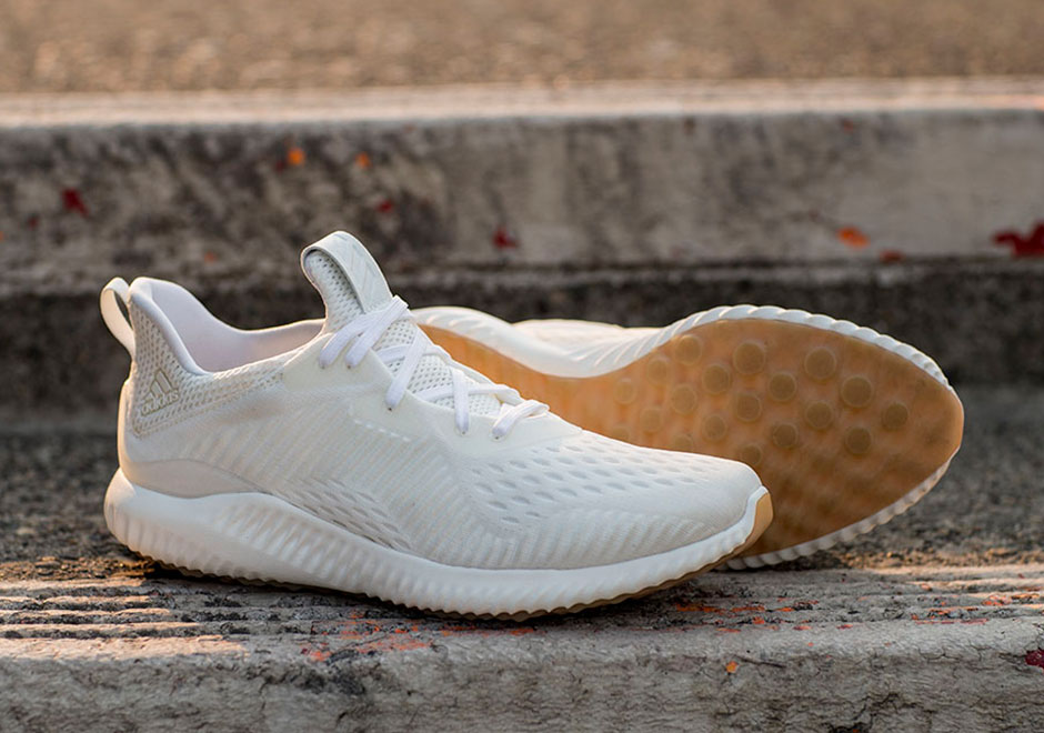 newest collection 79e0a ad967 adidas is adding this classically designed Undye colorway to its long list  of AlphaBounce styles. It features the usual BOUNCE cushioning, an  engineered ...
