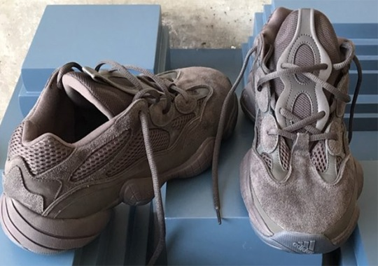 First Look At The adidas YEEZY Desert Rat 500