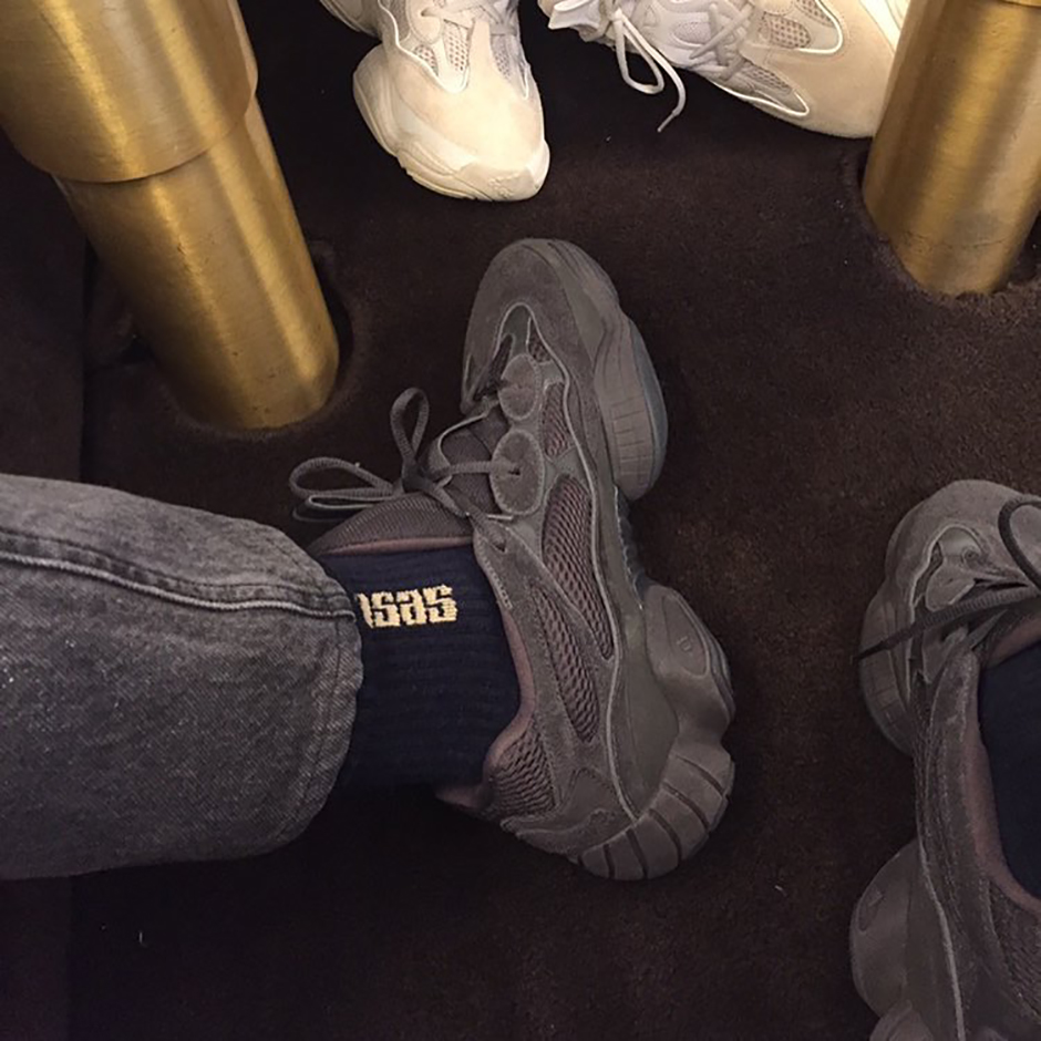 watch 87340 17ad8 adidas Yeezy 500 Runner Grey First Look | SneakerNews.com